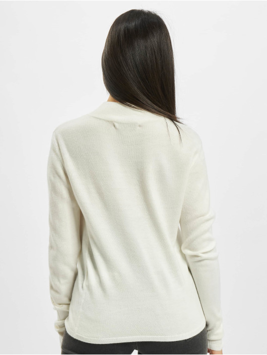 Only Sweat & Pull onlRose Highneck blanc
