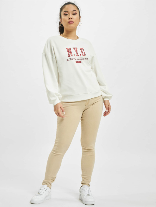Only Sweat & Pull onlEda Life blanc