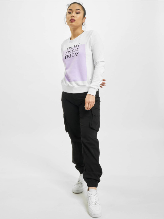 Only Sweat & Pull onlWeekday Life Reg blanc