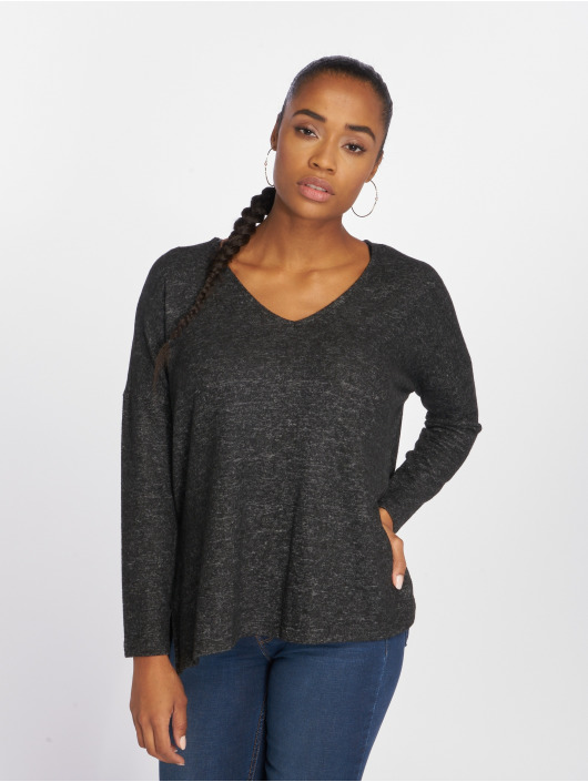 Only Sweat & Pull onlKleo Knit gris