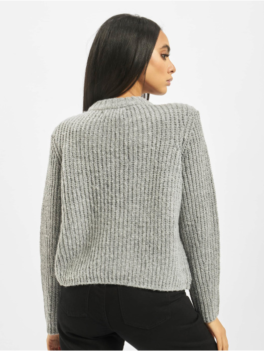 Only Sweat & Pull onlFiona Knit gris