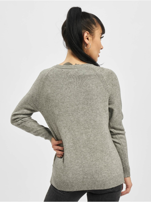 Only Sweat & Pull onlLesly Kings Noos Knit gris