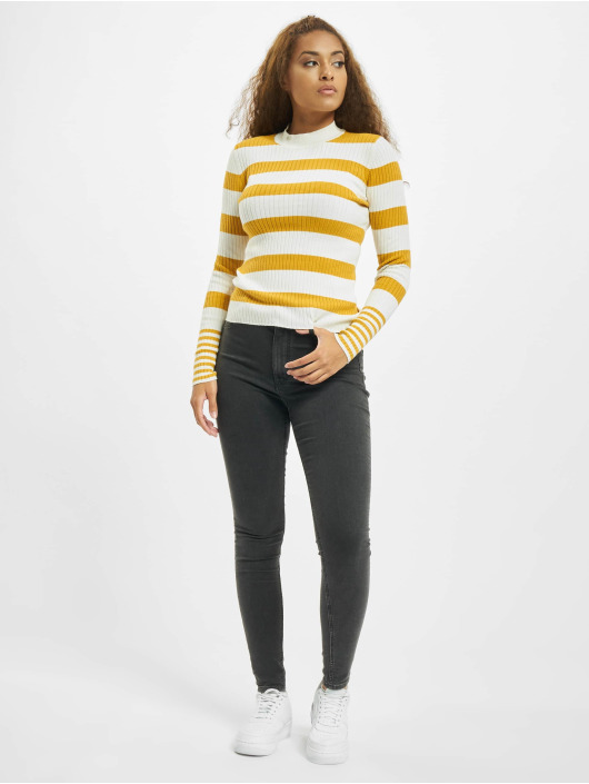 Only Sweat & Pull onyAlexa Stripe jaune