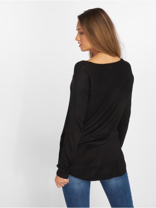 grossiste 4b198 e14dc Only onlMila Lacy Long Sweatshirt Black