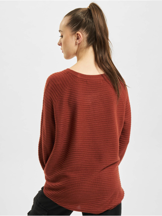 Only Sweat & Pull onlJune Oversize rouge