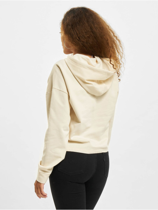 Only Sweat capuche Onldreamer Life SWT beige
