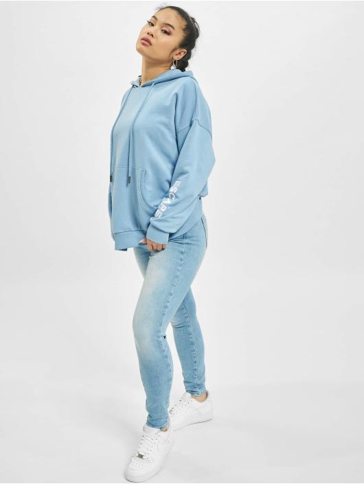 Only Sweat capuche onlTenna Life Oversize bleu