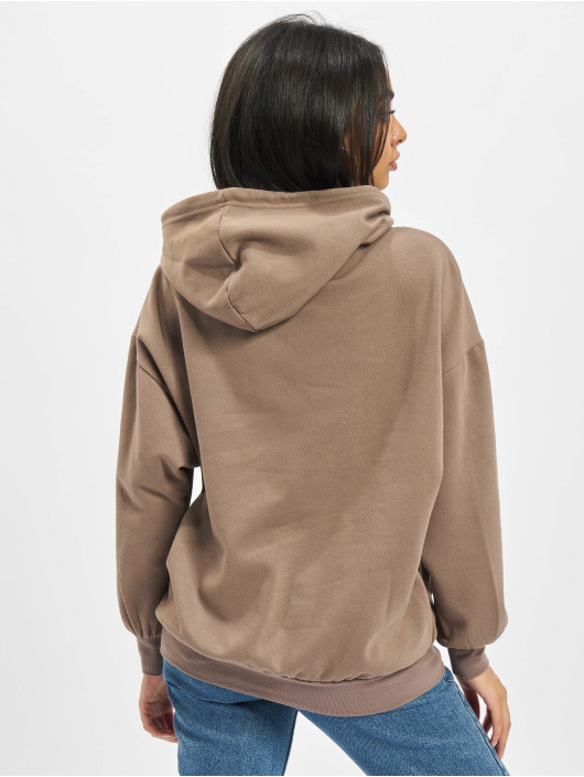 Only Sweat capuche Sonoma Life Oversized brun