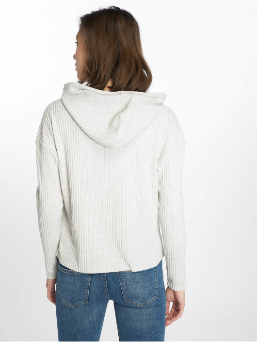 Only Sweat capuche onlBank gris