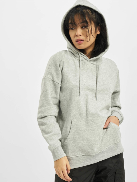 Only Sweat capuche onlFeel Life gris