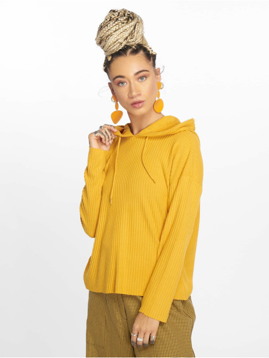 Only Sweat capuche onlBank jaune