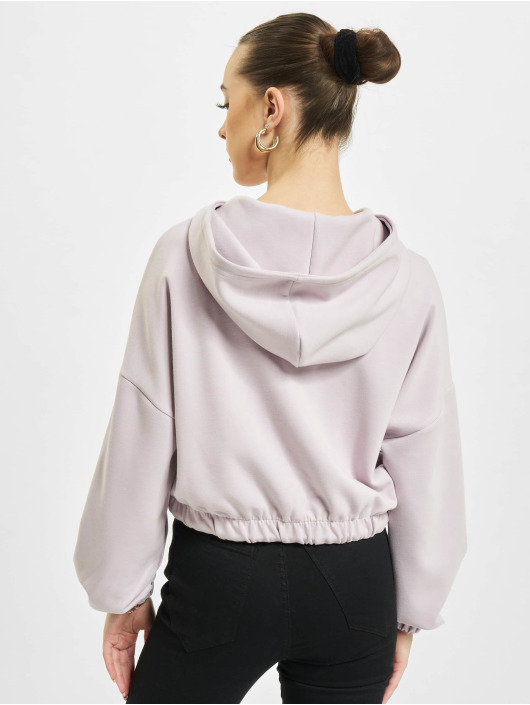 Only Sweat capuche onlScarlett pourpre