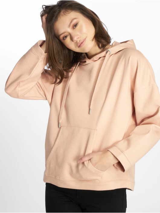 Only Sweat capuche onlMarbella Loose rose