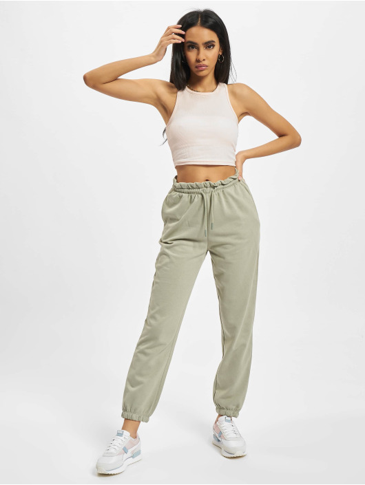 Only Sweat Pant Onlbless Paperbag green