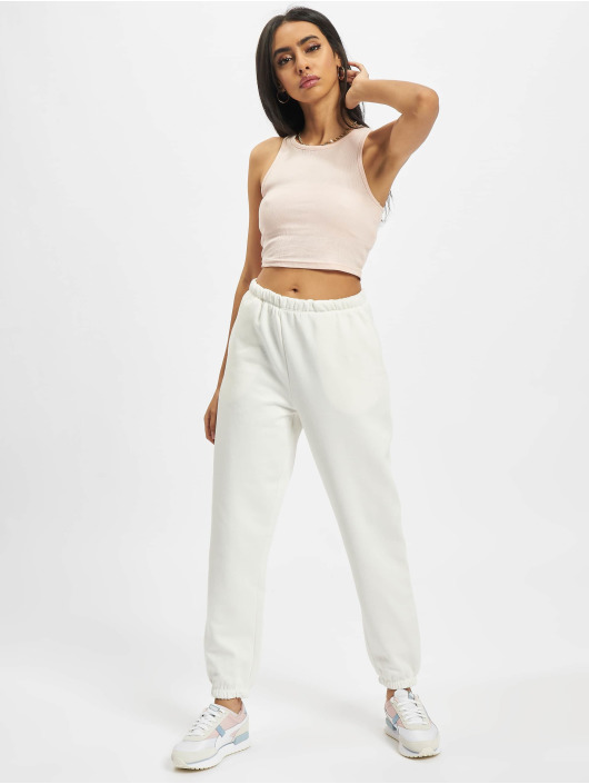 Only Sweat Pant Onlfeel Life 7/8 white