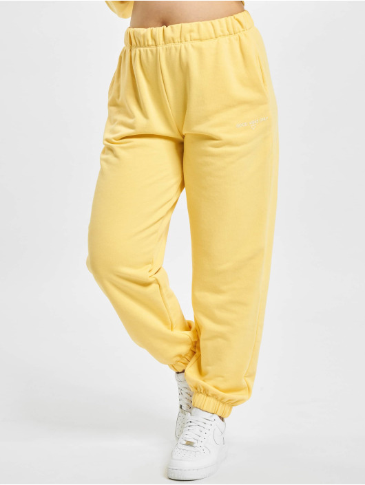 Only Sweat Pant Onldaimi Life yellow