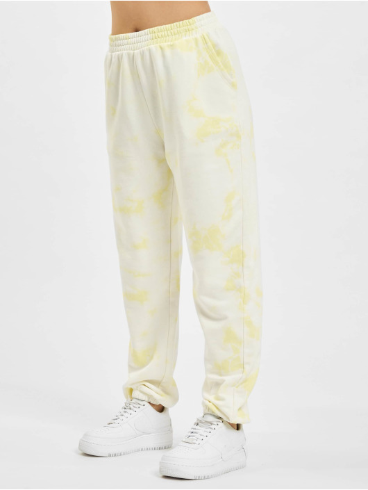 Only Sweat Pant onlHella Life yellow