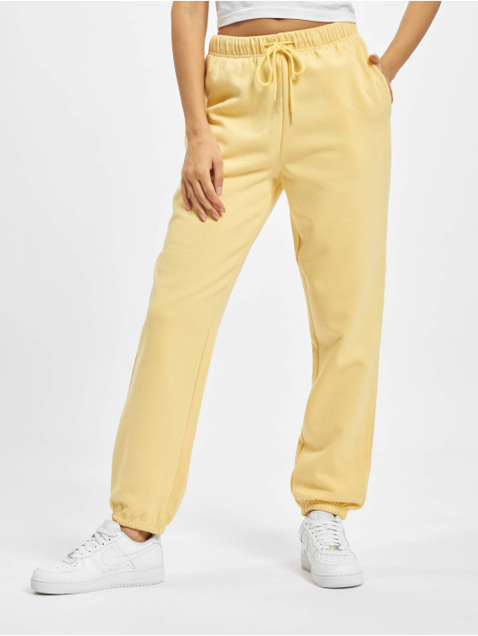 Only Sweat Pant Onlcomfy Life yellow