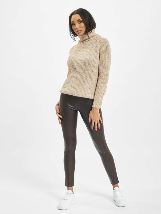 Only Swetry onlVega Wool Knit bezowy