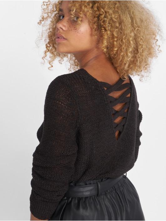 Only Swetry onlGabbi String czarny
