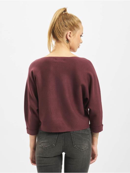 Only Swetry onlNew Dallas 3/4 Knit czerwony