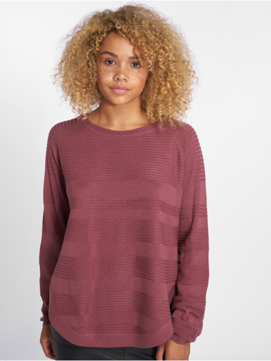 Only Swetry onlCaviar Knit fioletowy