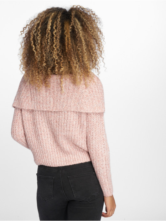 Only Swetry onlNew Fiona Off Shoulder rózowy