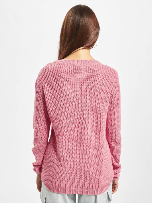 Only Swetry onlShiny Knit rózowy