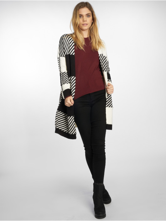 Only Swetry rozpinane Onlkasey L/s czarny