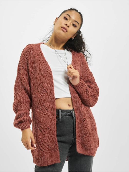 Only Swetry rozpinane onlHavana Long czerwony
