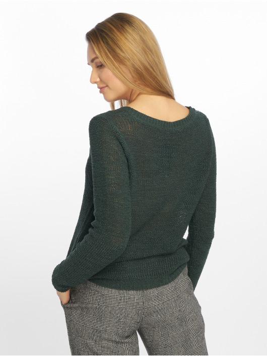 Only Swetry onlGeena Xo Knit zielony