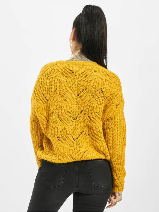 Only Swetry onlHavana Knit NOOS zólty