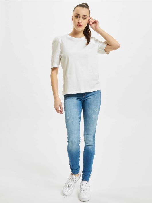 Only T-paidat onlNora Pastel Life Vol Denim valkoinen
