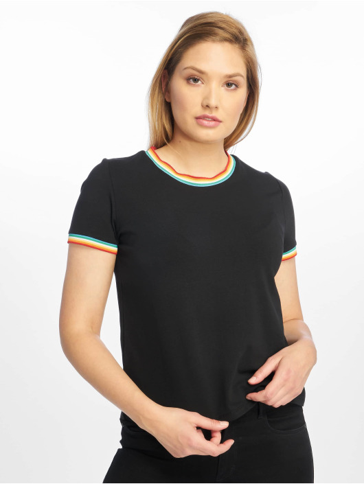 Only T-Shirt onlRainbow black