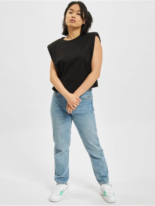 Only T-Shirt Jen Life Shoulderpad black
