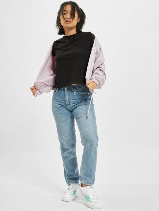 Only T-Shirt Ama Life Cropped O-Neck black