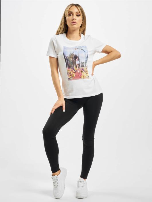 Only T-Shirt onlPriya Life blanc
