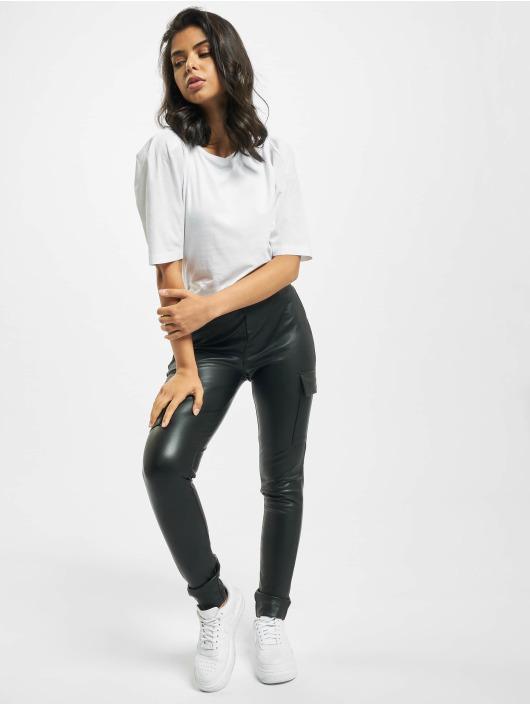 Only T-Shirt onlMinna 2/4 Mix Jersey blanc