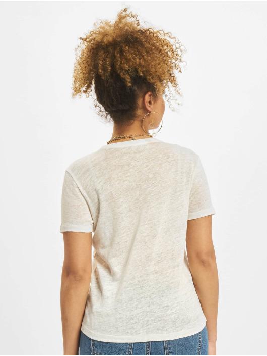 Only T-Shirt onlPatrice Linen Denim blanc