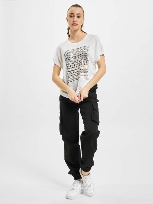 Only T-Shirt onlPiper Reg Bat blanc