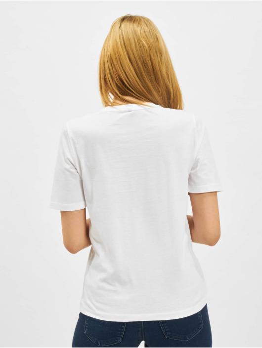 Only T-Shirt onlIris Life Boxy Shortsleeve City Box blanc