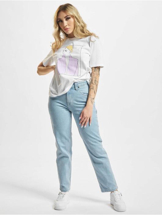 Only T-Shirt onlDina Life blanc