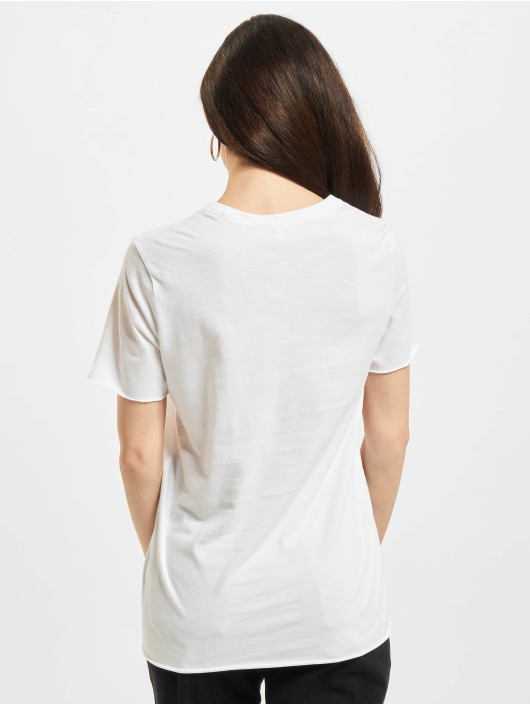 Only T-Shirt Onllucy Life Flower Box JRS blanc