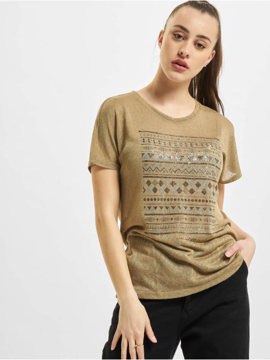 Only T-Shirt onlPiper Reg Bat braun
