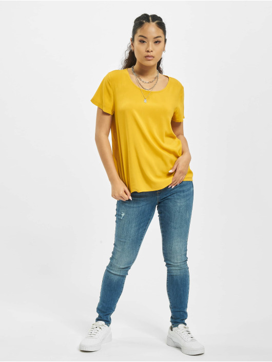 Only t-shirt onlFirst One Life Solid Noos geel