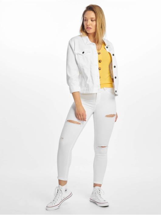 Only T-Shirt onlNella Button gelb