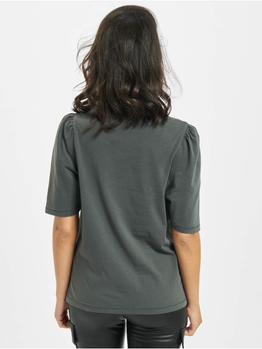 Only T-Shirt onlNora Life Volume Dnm grau