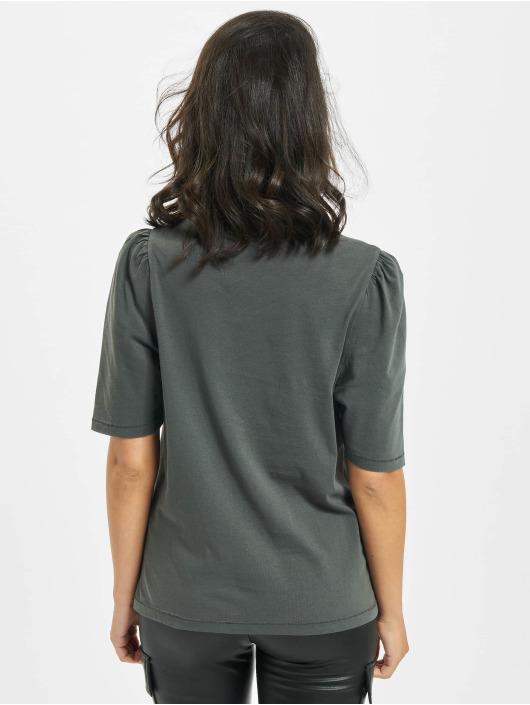 Only T-Shirt onlNora Life Volume Dnm gray