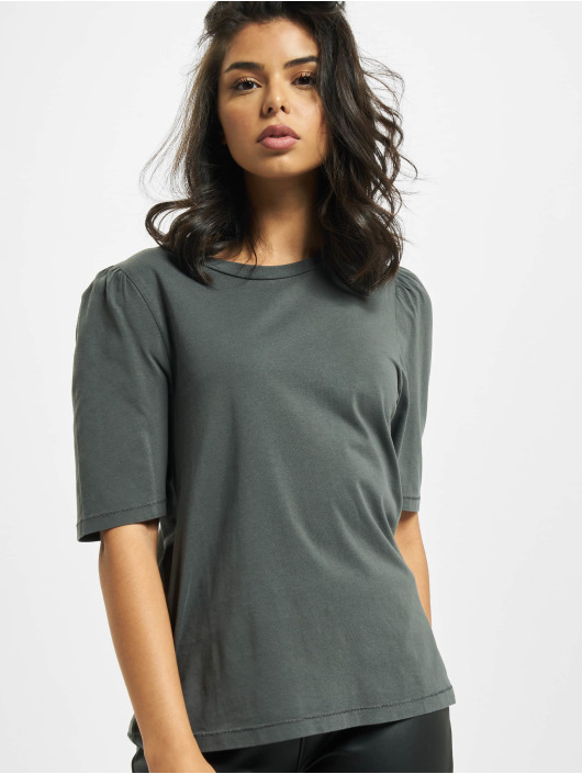 Only T-Shirt onlNora Life Volume Dnm gris