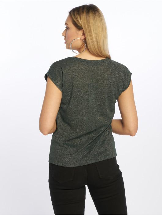 Only T-Shirt onlSilvery Lurex grün